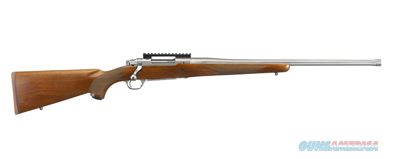 "Ruger Hawkeye Hunter 6.5 Creedmoor Walnut 22"" SS 57104  Guns > Rifles > Ruger Rifles > Model 77"