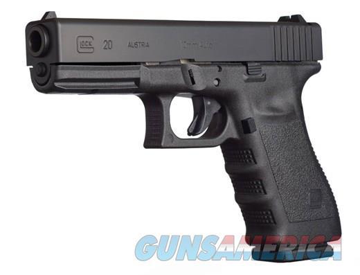 """Glock G20SF GEN3 10mm Black 4.6"""" 15 Rds PF2050203   Guns > Pistols > Glock Pistols > 20/21"""