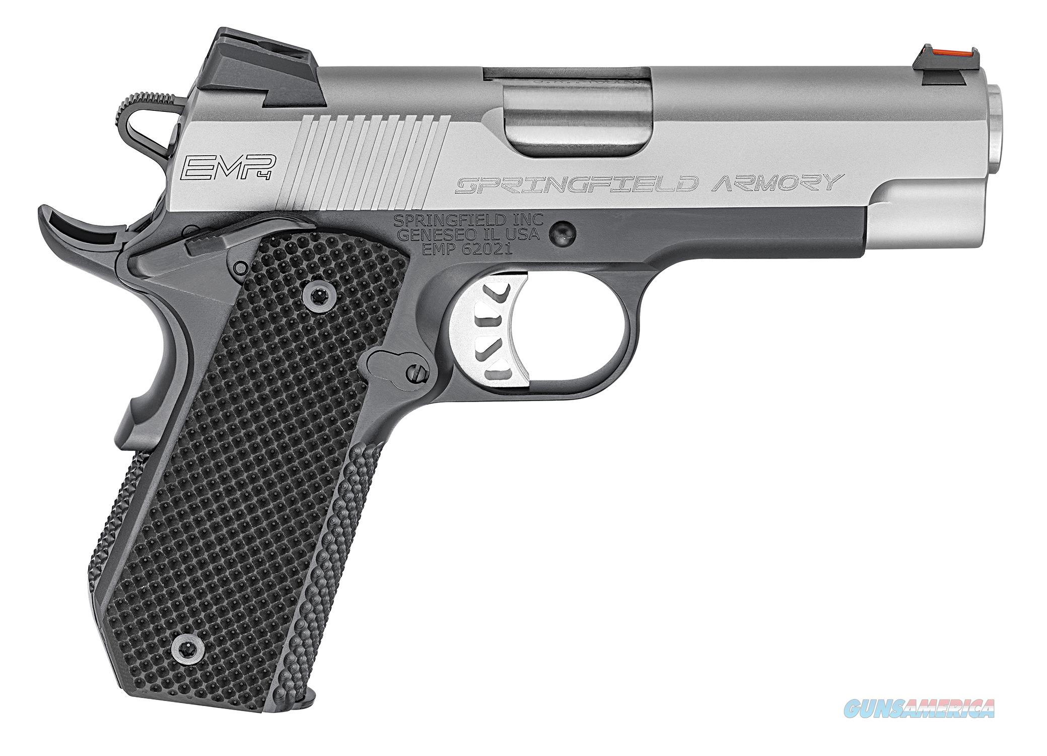"Springfield 1911 EMP 4"" .40 S&W Black/Stainless PI9224L   Guns > Pistols > Springfield Armory Pistols > 1911 Type"