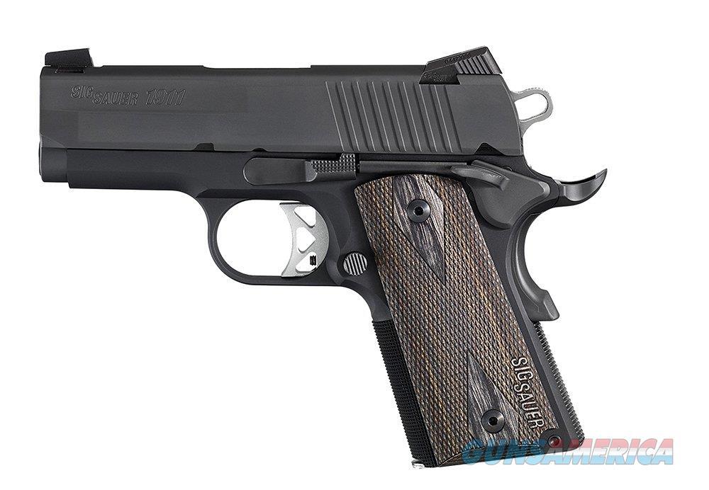 "Sig Sauer 1911 Ultra Nitron .45 ACP 3.3"" 1911U-45-BSS  Guns > Pistols > Sig - Sauer/Sigarms Pistols > 1911"