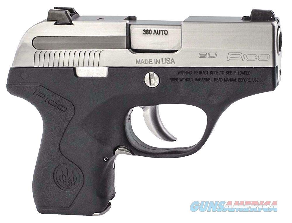 "Beretta Pico Compact Two-Tone 2.7"" .380 ACP JMP8D25  Guns > Pistols > Beretta Pistols > Polymer Frame"