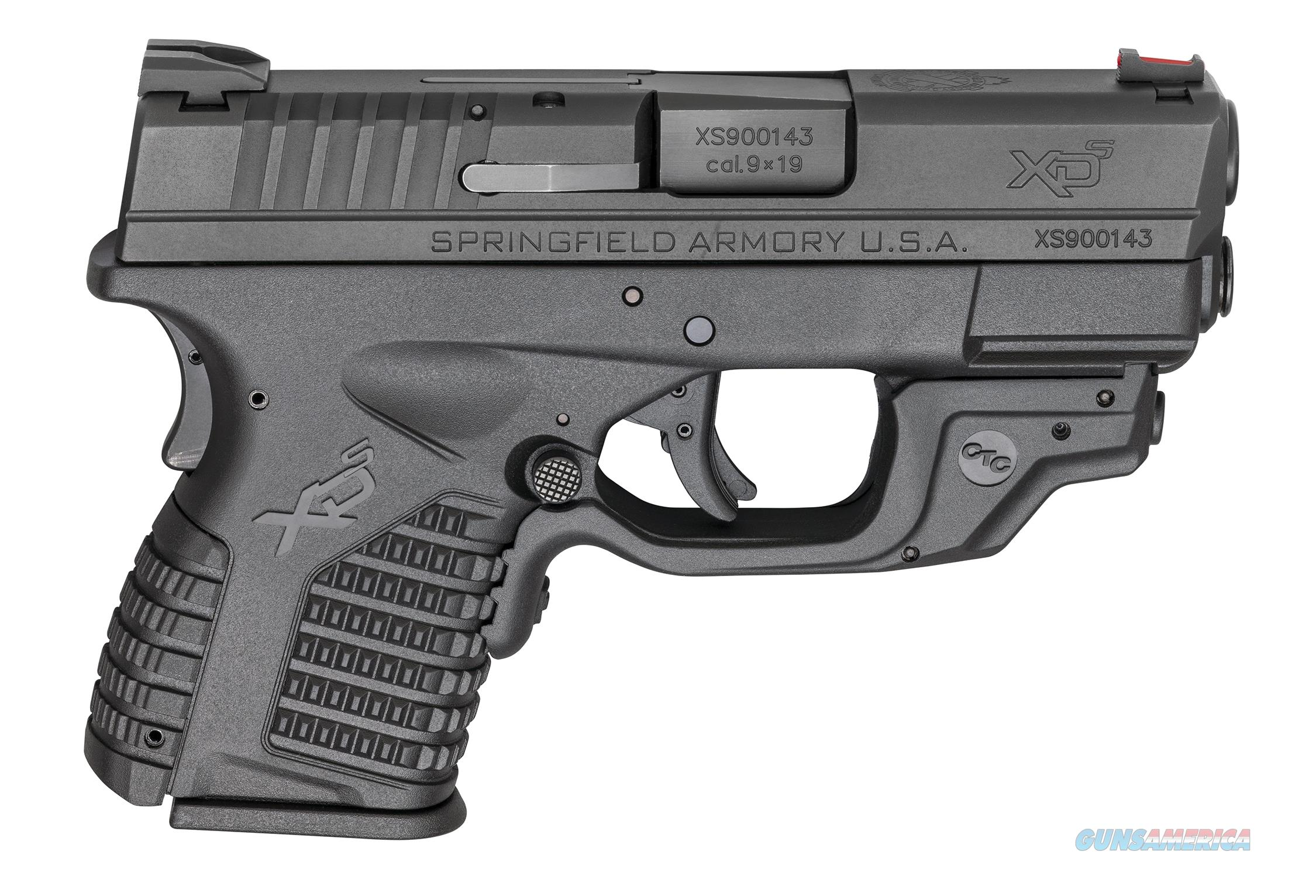"Springfield XD-S Crimson Trace 9mm 3.3"" XDS9339BCTC   Guns > Pistols > Springfield Armory Pistols > XD-S"