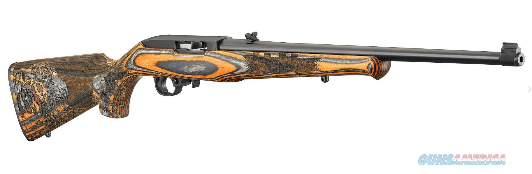 Ruger 10/22 Carbine Bengal Tiger .22 LR TALO 31125  Guns > Rifles > Ruger Rifles > 10-22
