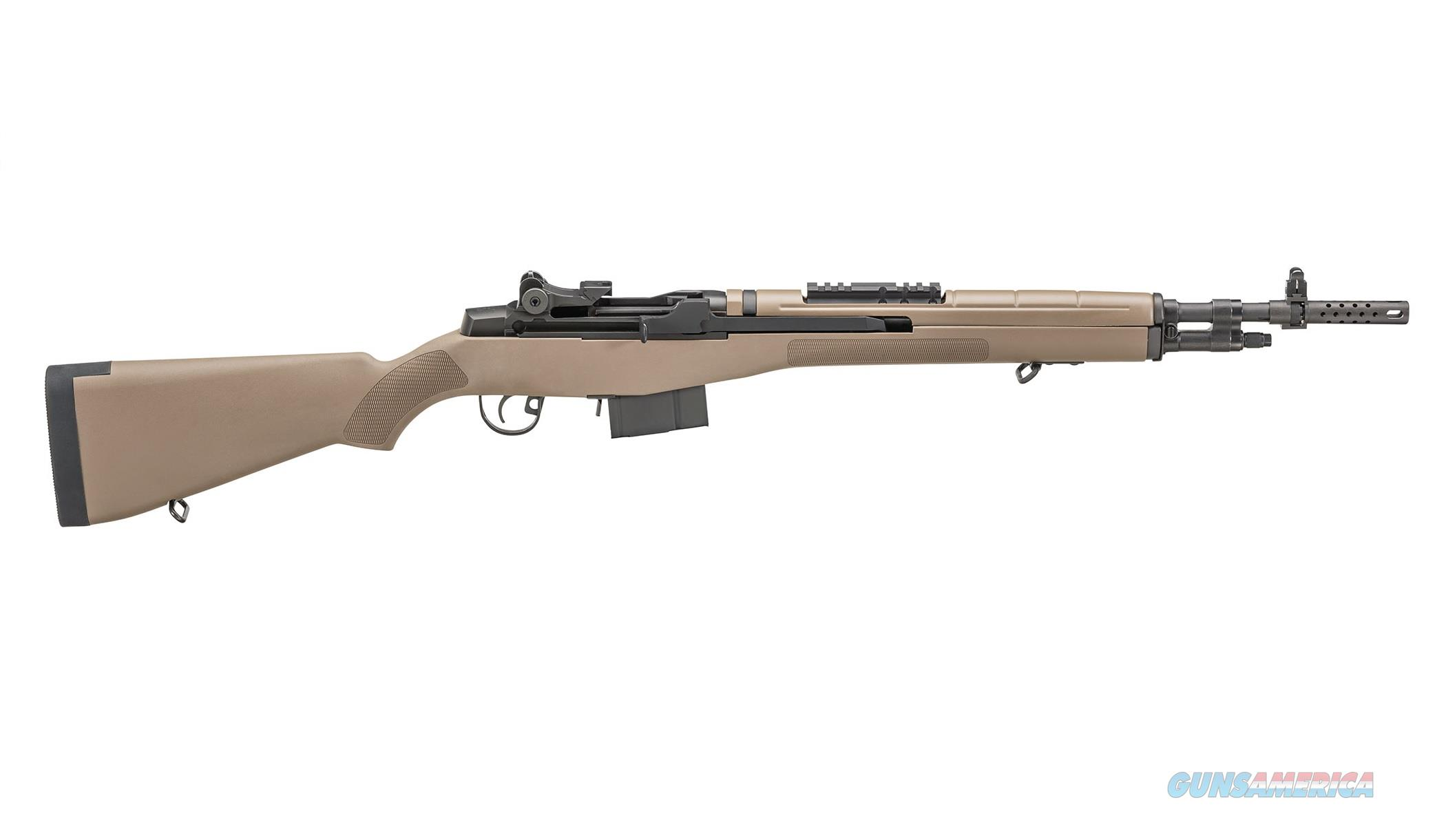 Springfield Armory M1A Scout Squad 7.62 Nato FDE AA9120   Guns > Rifles > Springfield Armory Rifles > M1A/M14