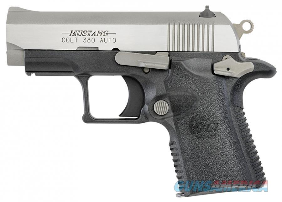 "Colt Mustang Lite .380 ACP 2.75"" 6 Rounds Two Tone O6796   Guns > Pistols > Colt Automatic Pistols (.25, .32, & .380 cal)"