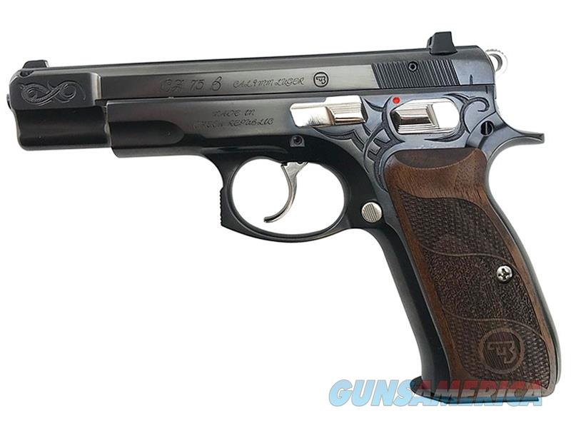 CZ-USA 75 B 40th Anniversary Euro Edition 9mm 91148   Guns > Pistols > CZ Pistols