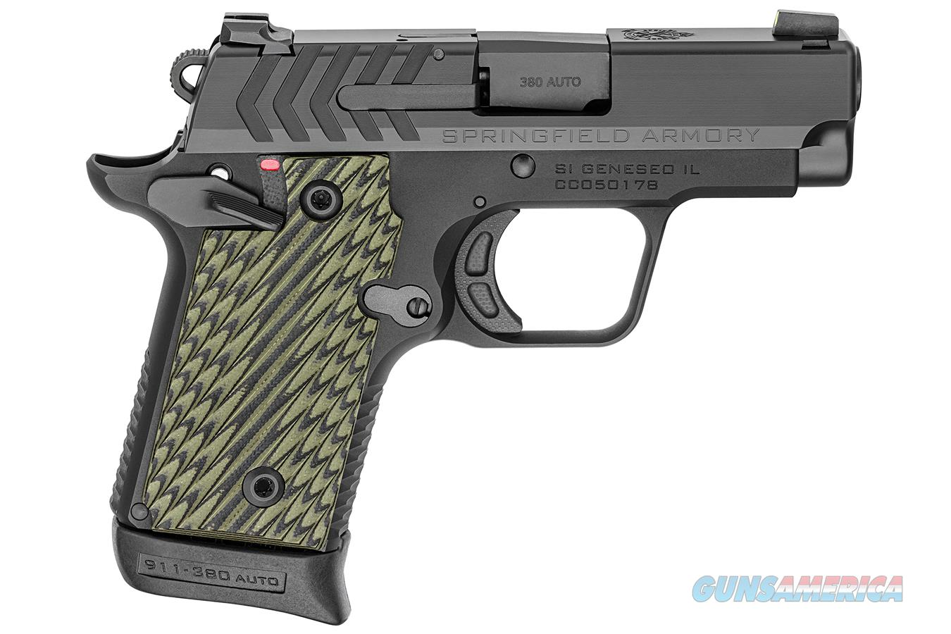 "Springfield 911 .380 ACP 2.7"" Black Nitride PG9109   Guns > Pistols > Springfield Armory Pistols > 911"