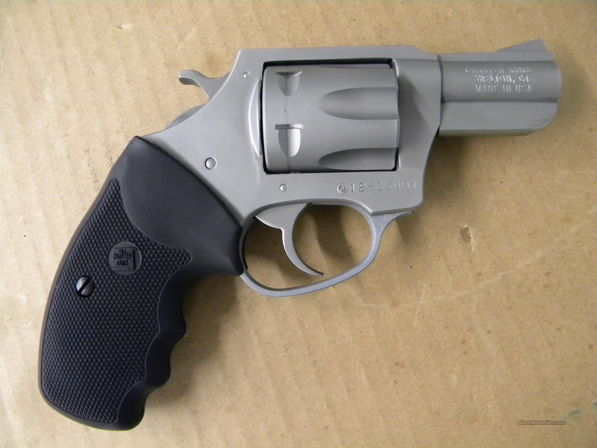 Charter Arms 9mm Pitbull Rimless Revolver for sale