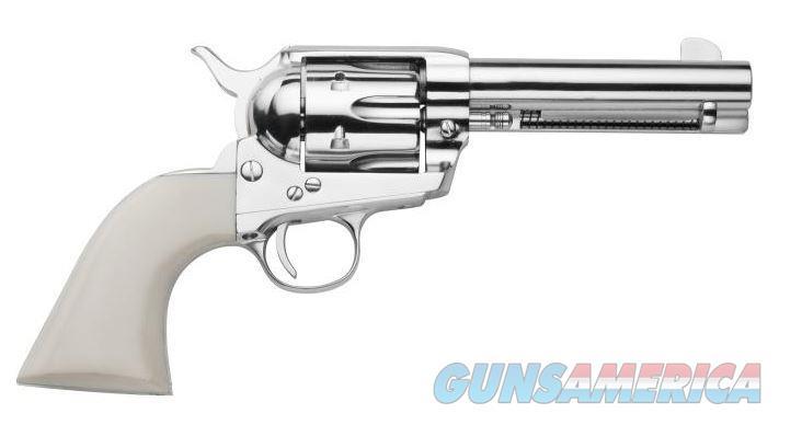 """Traditions 1873 Frontier SA Revolver .45 LC 4.75"""" Nickel SAT73-131   Guns > Pistols > Traditions Pistols"""