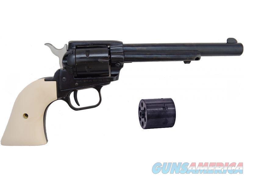 "HERITAGE ROUGH RIDER 6.5"" IVORY .22 LR & MAGNUM COMBO RR22MB6W  Guns > Pistols > Heritage"