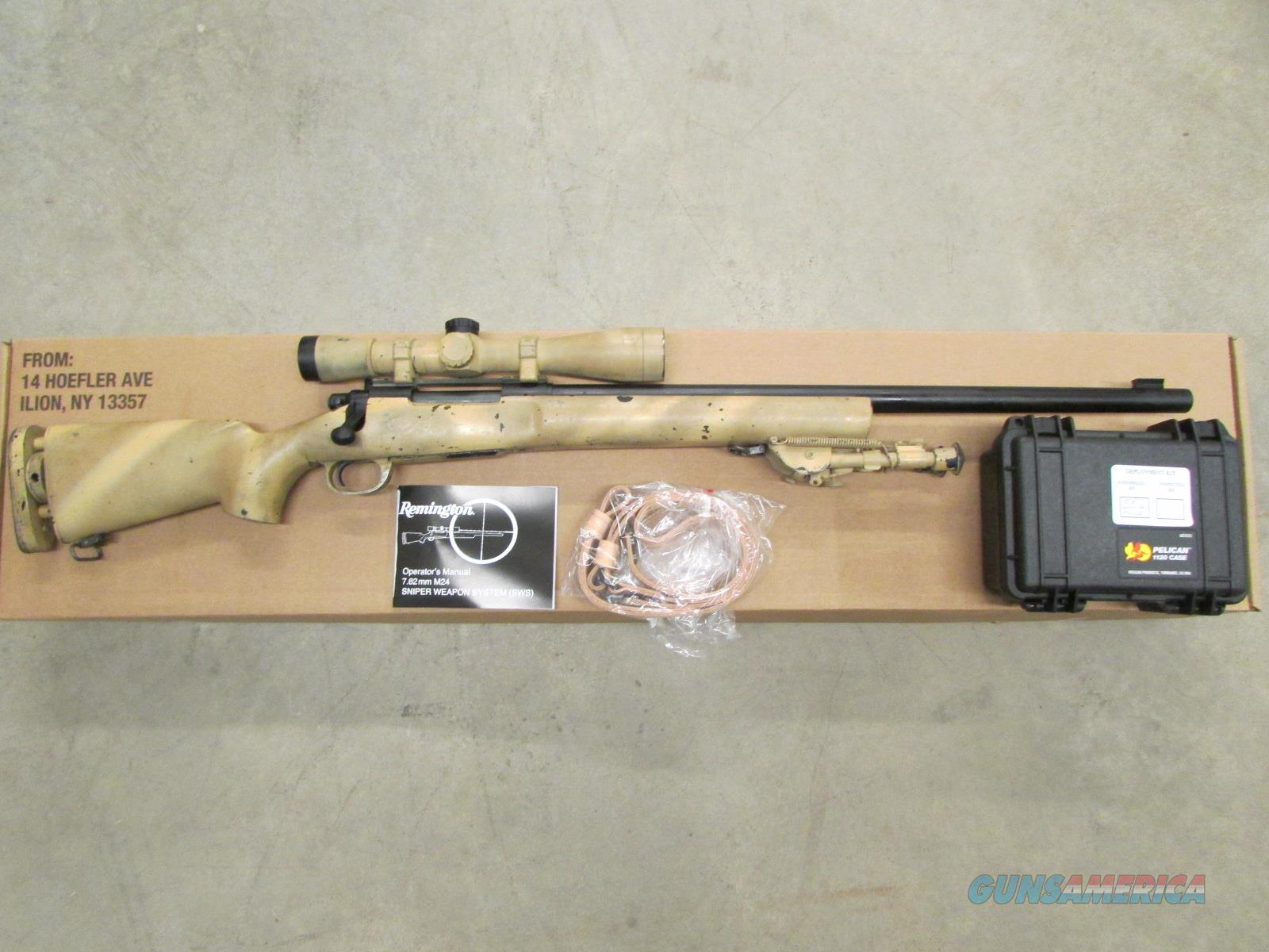 REMINGTON M24 SWS 7.62 NATO MILITARY BRING-BACK... for sale