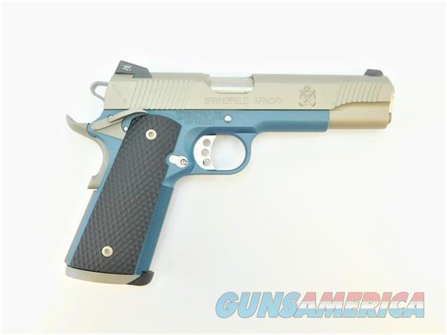 "SPRINGFIELD 1911 TRP 5"" .45 CERAKOTE TITANIUM BLUE PC9107  Guns > Pistols > Springfield Armory Pistols > 1911 Type"