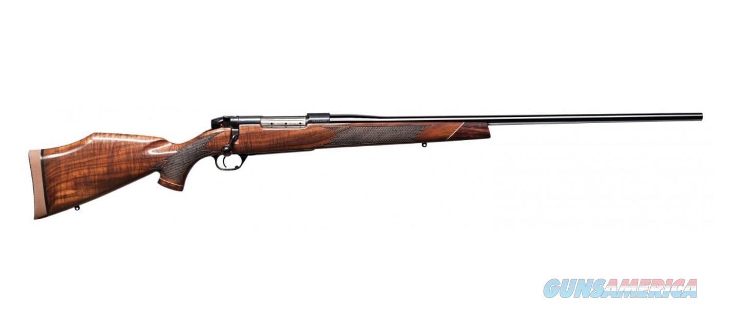 "Weatherby Mark V Deluxe 26"" 7mm Wby Mag Walnut MDXM7MMWR6O  Guns > Rifles > Weatherby Rifles > Sporting"