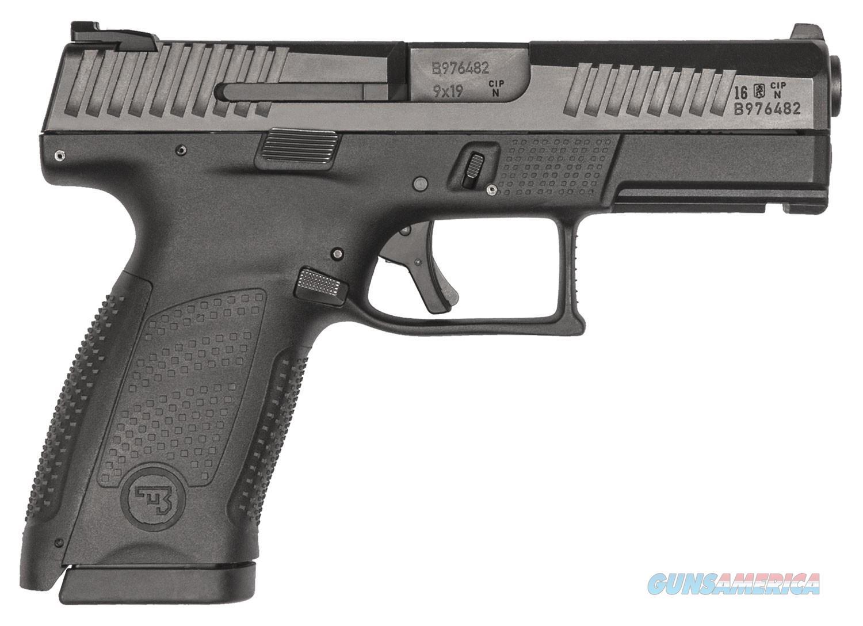 """CZ-USA CZ P-10 Compact 9mm 4.02"""" Black 10 Rounds 01520   Guns > Pistols > CZ Pistols"""