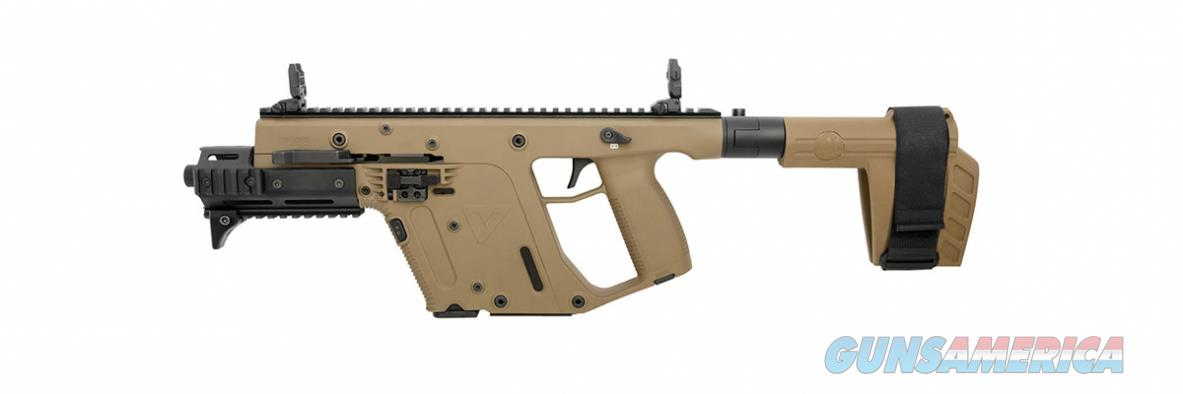 Kriss Vector Gen II SDP SB 10mm FDE KV10-PSBFD31  Guns > Pistols > Kriss Tactical Pistols