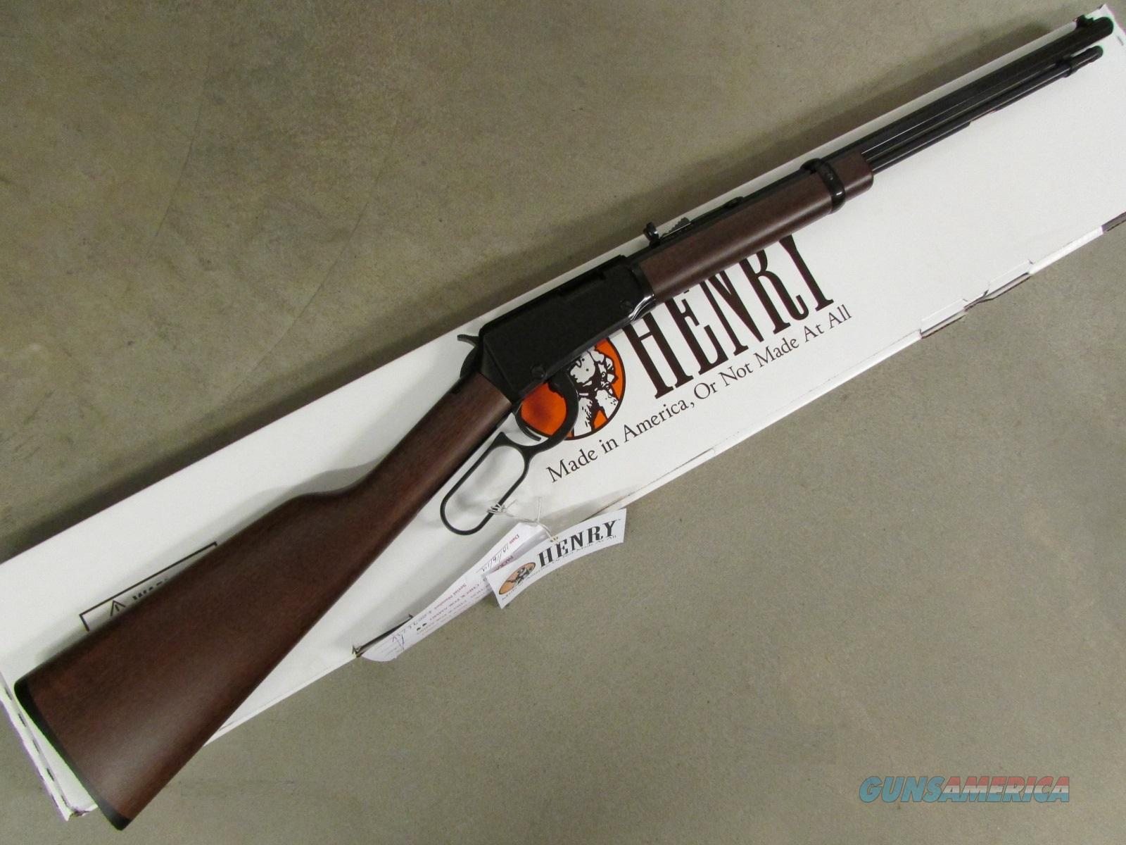 Henry Octagon Frontier Model Lever-Action .17 HMR H001TV  Guns > Rifles > Henry Rifle Company