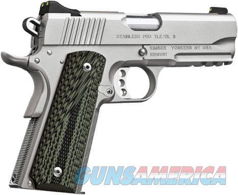 Kimber 1911 Stainless Pro TLE/RL II (2016) .45ACP 3200344  Guns > Pistols > Kimber of America Pistols > 1911