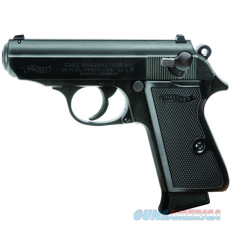 """Walther PPK/S .22 LR Black 3.26"""" 10 Rounds 5030300   Guns > Pistols > Walther Pistols > Post WWII > PPK Series"""