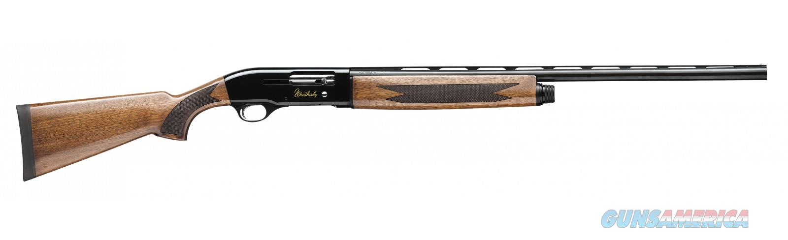 "Weatherby SA-08 Semi-Auto Deluxe Walnut Stock 12 Gauge 28"" Barrel  Guns > Shotguns > Weatherby Shotguns > Hunting > Autoloader"