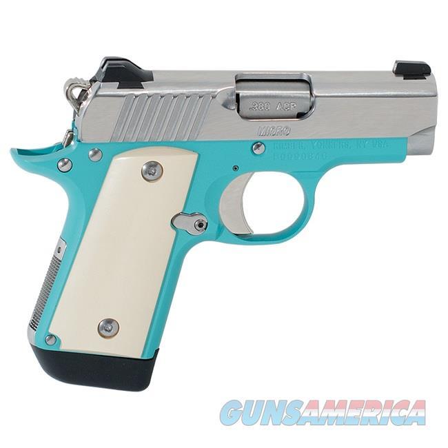 "Kimber Micro 9 Bel Air NS .380 ACP 3.15"" SS Ivory 3300210  Guns > Pistols > Kimber of America Pistols > Micro 9"