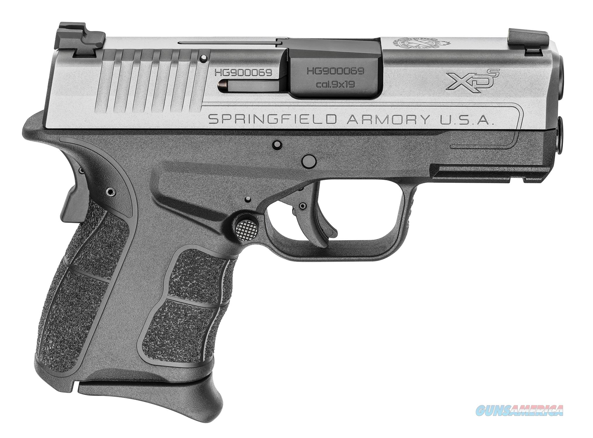 "Springfield XD-S Mod.2 9mm 3.3"" Black/SS Pro-Glo XDSG9339ST  Guns > Pistols > Springfield Armory Pistols > XD-S"