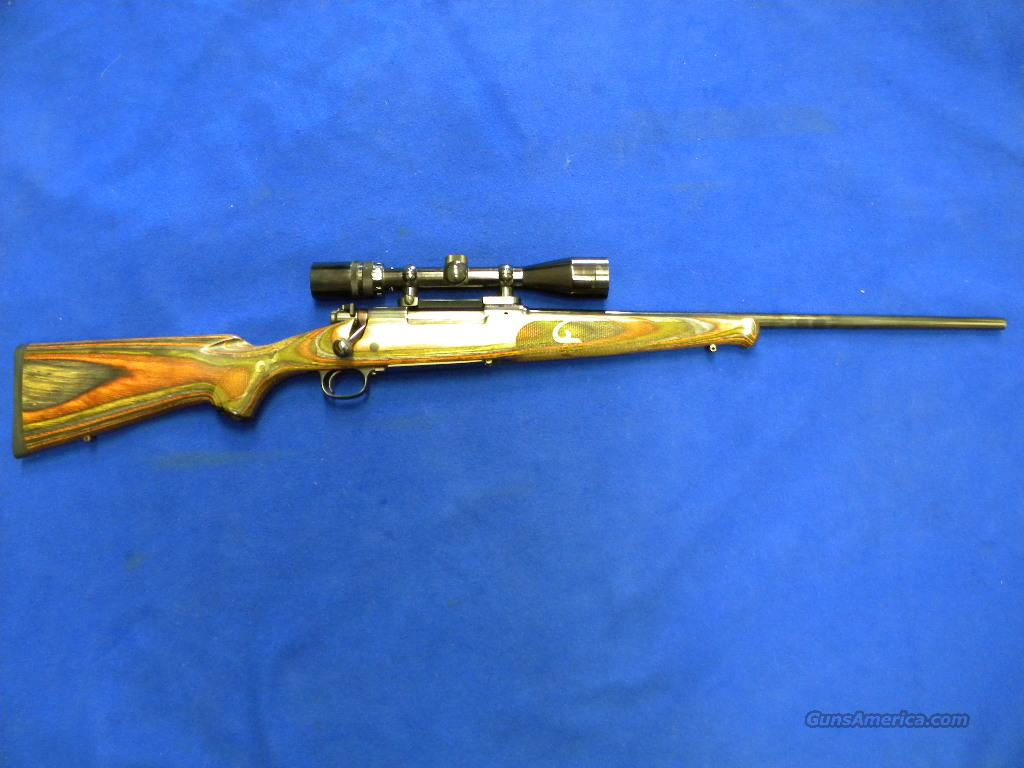 Used Winchester 70 XTR 30-06 Mulit Colored Stock w/Scope  Guns > Rifles > Winchester Rifles - Modern Bolt/Auto/Single > Model 70 > Post-64