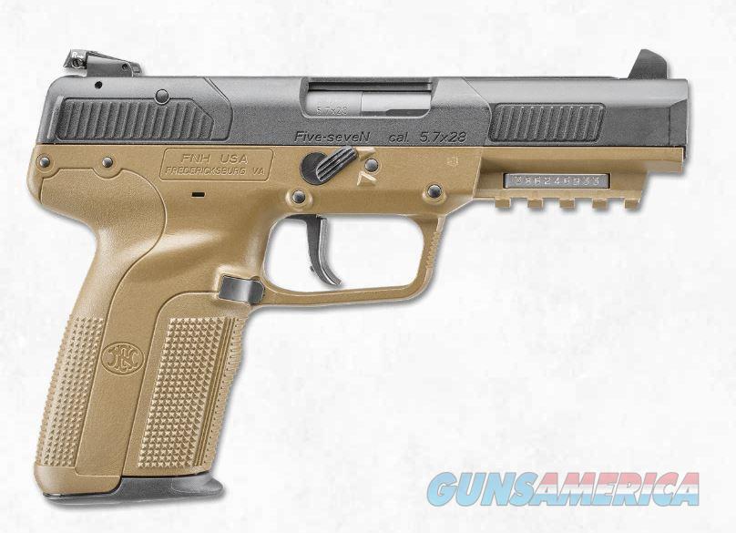 """FNH Five-seveN FDE 5.7x28mm 4.8"""" 20 Rds 3868929350   Guns > Pistols > FNH - Fabrique Nationale (FN) Pistols > FiveSeven"""