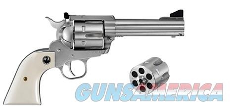 "Ruger NM Blackhawk Convertible .45 Colt/.45 ACP 4.62"" SS 5243   Guns > Pistols > Ruger Single Action Revolvers > Blackhawk Type"