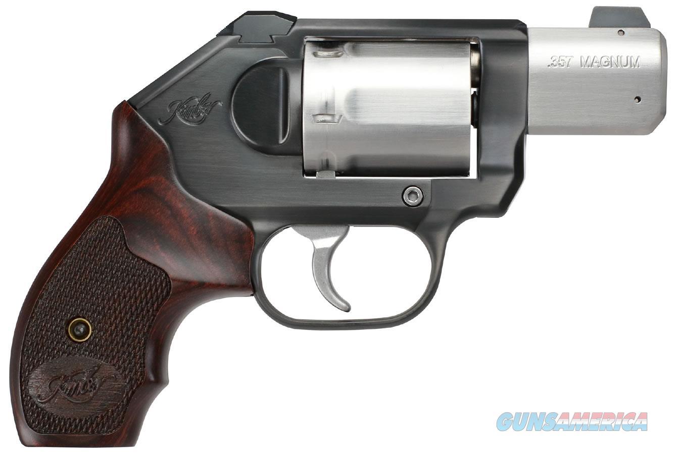 "Kimber K6s CDP .357 Magnum 2"" Stainless Rosewood Grips 3400013  Guns > Pistols > Kimber of America Pistols > Revolvers"