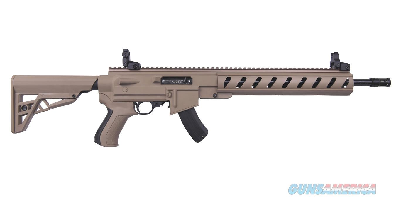 "Ruger 10/22 ATI AR-22 TALO .22 LR 16.12"" FDE 21144   Guns > Rifles > Ruger Rifles > 10-22"