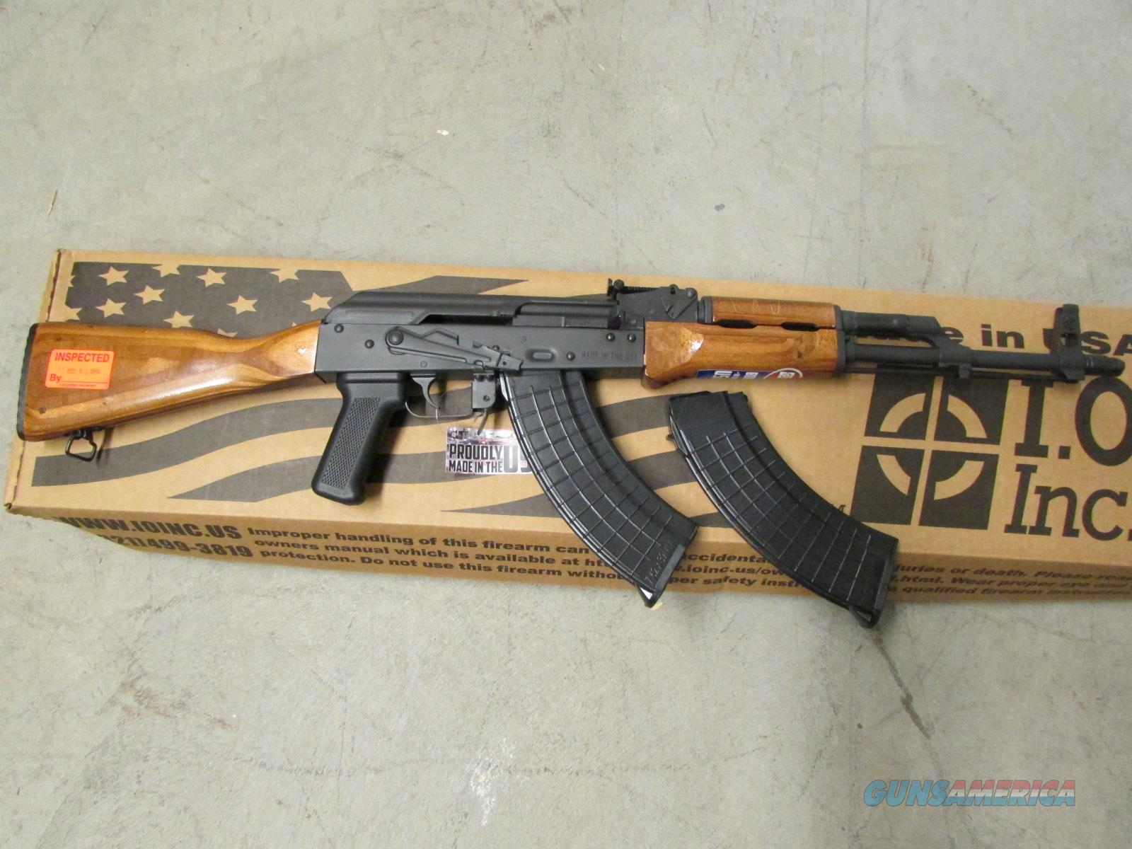 IO INC. AKM247C AK-47 7.62X39 WOOD STOCK SKU: IODM2008  Guns > Rifles > AK-47 Rifles (and copies) > Full Stock