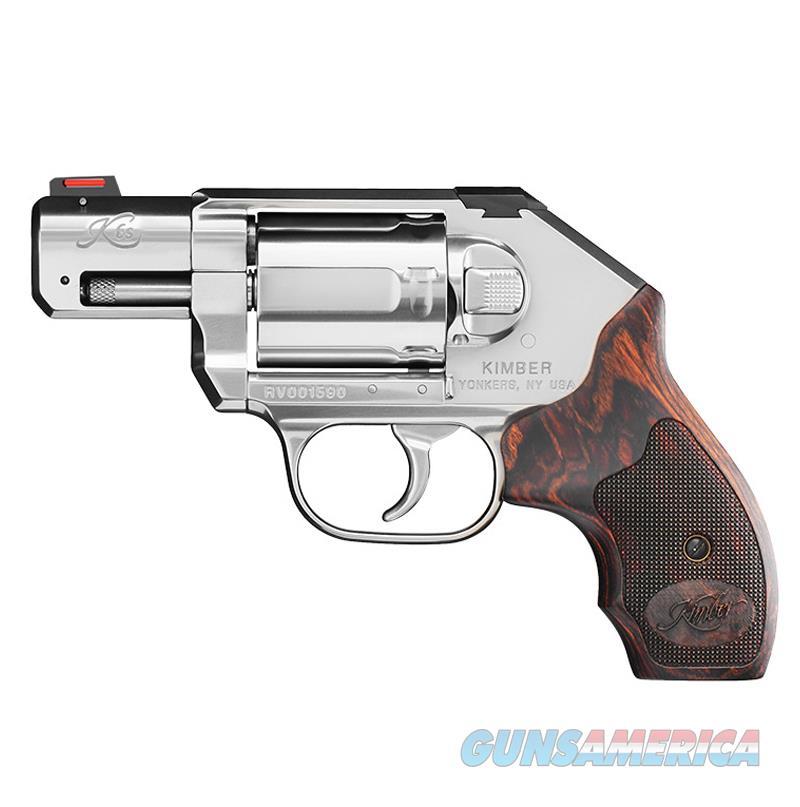 "Kimber K6s DCR .357 Magnum Satin Silver/Wood 2"" 3400009   Guns > Pistols > Kimber of America Pistols > Revolvers"
