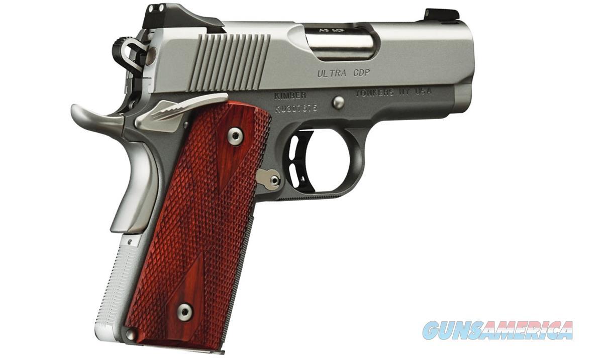"Kimber Ultra CDP .45 ACP (2017) 3"" Gray/Silver 3000245   Guns > Pistols > Kimber of America Pistols"