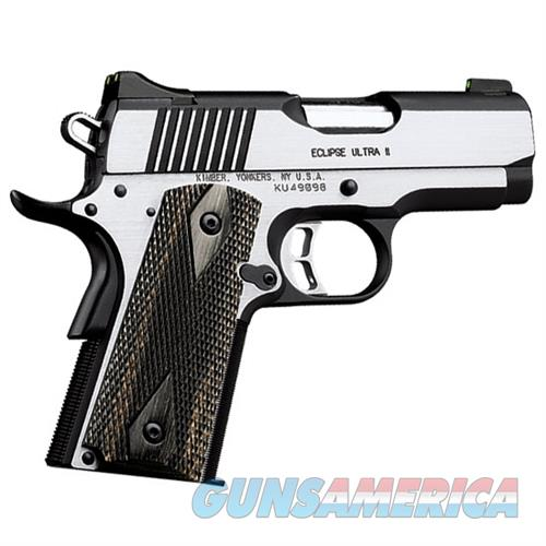 "Kimber Eclipse Ultra II .45 ACP 3"" Stainless 7 Rounds 3200042   Guns > Pistols > Kimber of America Pistols > 1911"