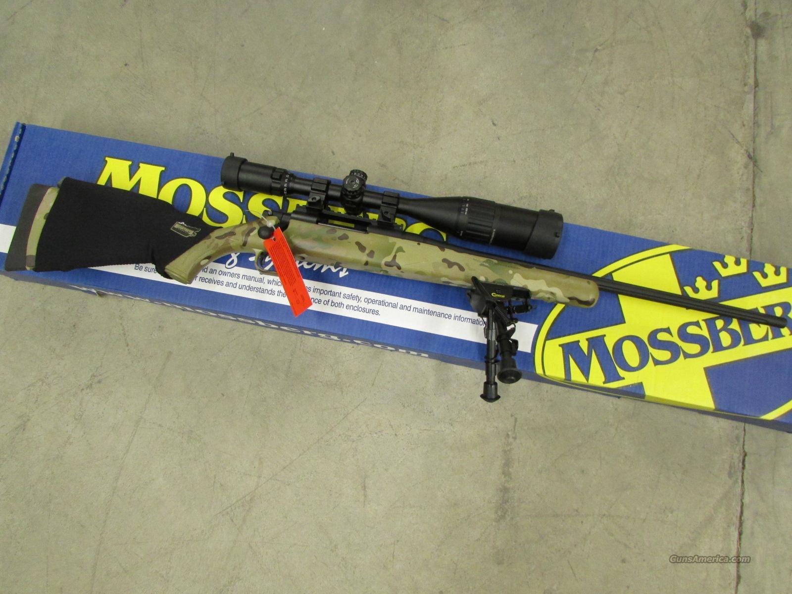 Mossberg Atr Night Train Iv Rifle Multicam With Scope