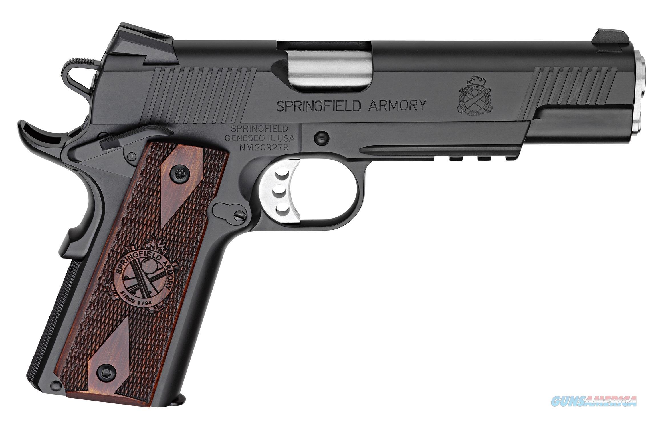 "Springfield 1911 Loaded .45 ACP Black 5"" w/Range Bag PX9116L18  Guns > Pistols > Springfield Armory Pistols > 1911 Type"