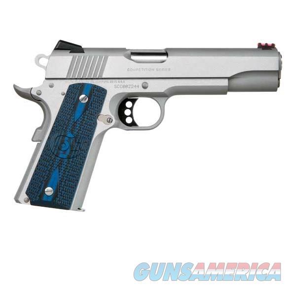 """Colt 1911 Stainless Competition Pistol .45 ACP 5"""" O1070CCS  Guns > Pistols > Colt Automatic Pistols (1911 & Var)"""