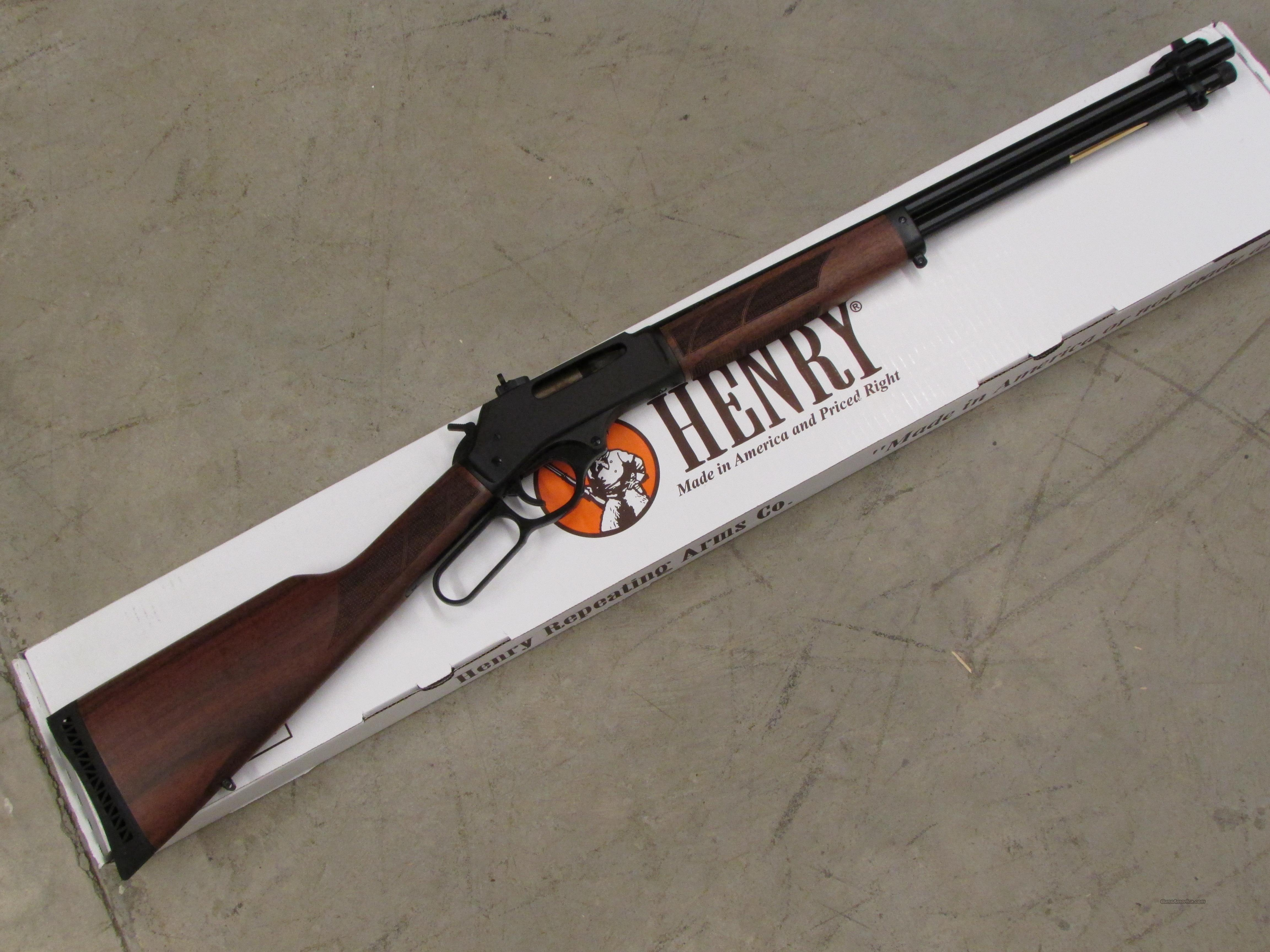 Henry Lever-Action .30-30 Win. Steel Frame H009  Guns > Rifles > Henry Rifle Company
