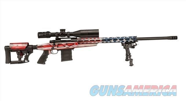 """HOWA M1500 HCR American Flag Chassis Rifle 6.5 Creed 24"""" TB w/Scope HCRA72507USK   Guns > Rifles > Howa Rifles"""