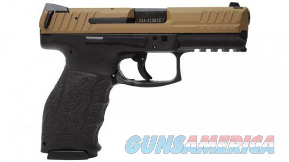 """Heckler & Koch VP9 Black / FDE 9mm 4.09"""" 15 Rds 81000135  Guns > Pistols > Heckler & Koch Pistols > Polymer Frame"""