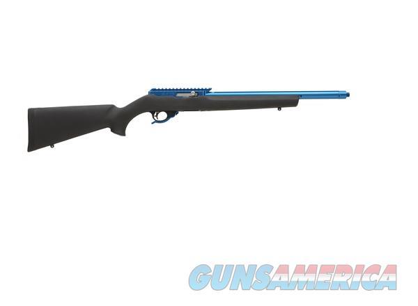 TACTICAL SOLUTIONS X-RING RIFLE BLUE / HOGUE BLACK 10/22 .22 LR TE-BLU-T-H-BLK   Guns > Rifles > Ruger Rifles > 10-22