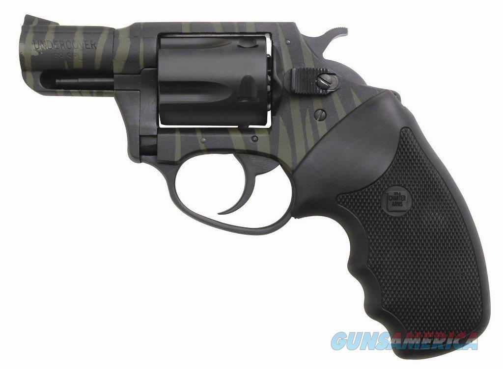 "Charter Arms Undercover Tiger II .38 Special 2"" Black/Green 13825  Guns > Pistols > Charter Arms Revolvers"