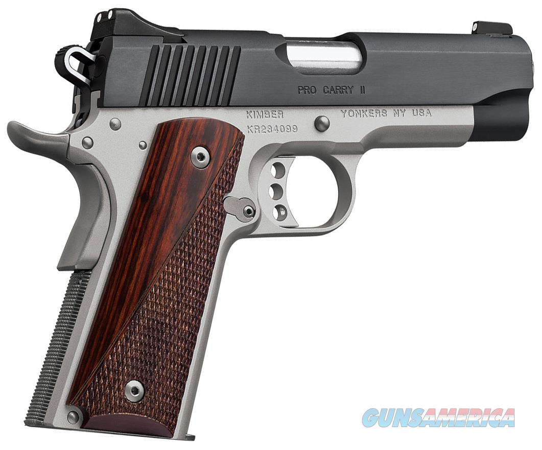 "Kimber Pro Carry II Two-Tone 1911 .45 ACP 4"" 3200320  Guns > Pistols > Kimber of America Pistols"