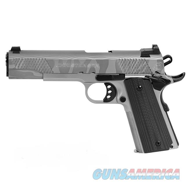 "Christensen Arms 1911 G5 Damascus .45 ACP 5"" 8 Rds CA10287-1071111   Guns > Pistols > Custom Pistols > 1911 Family"