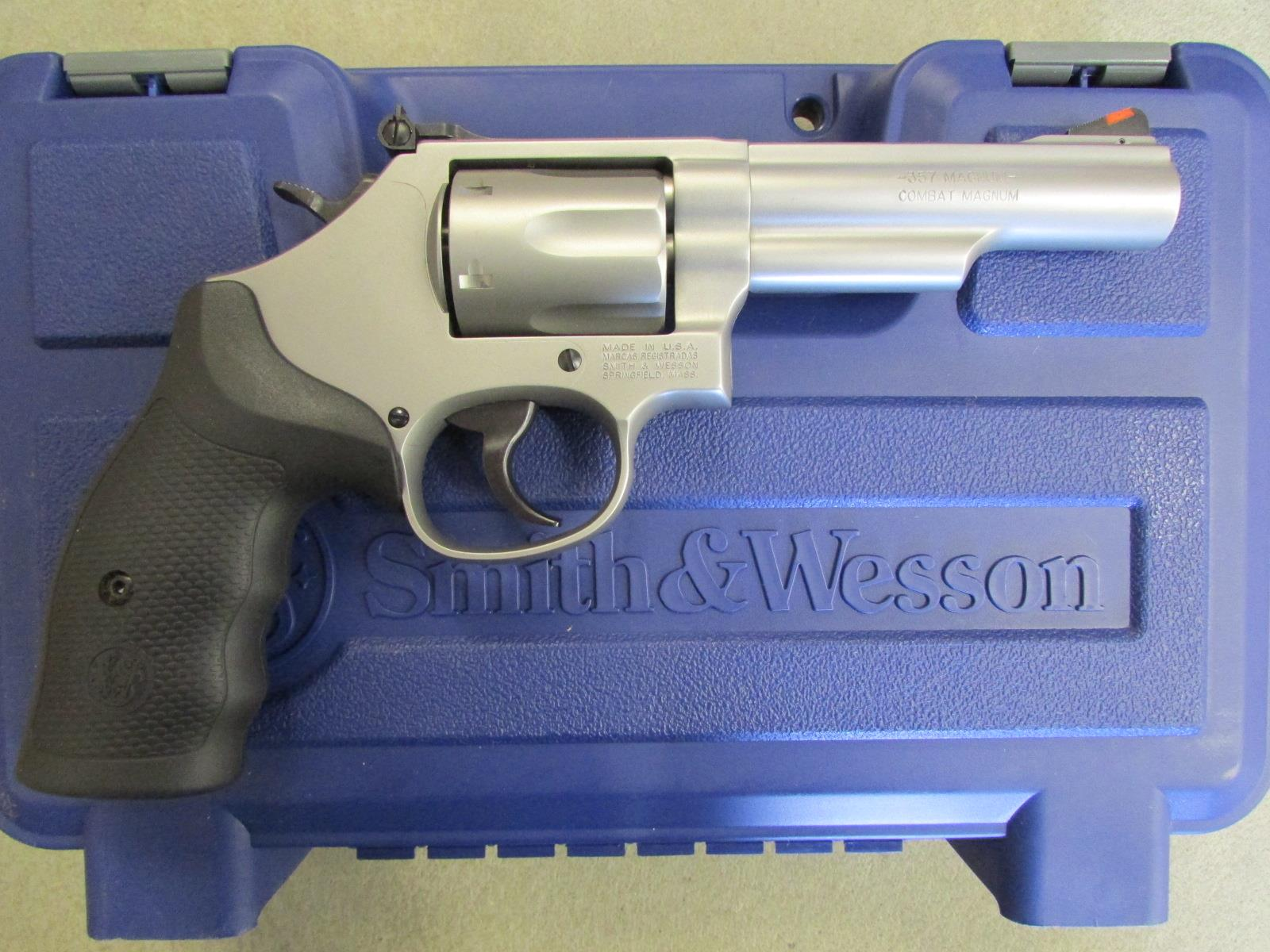 "Smith & Wesson Model 66 4.25"" Stainless .357 Mag 162662  Guns > Pistols > Smith & Wesson Revolvers > Full Frame Revolver"