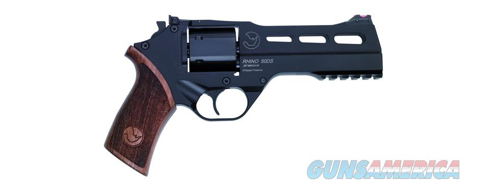 "Chiappa Rhino 50 DS Revolver .357 Magnum 5"" Black 340.220   Guns > Pistols > Chiappa Pistols & Revolvers > Rhino Models"