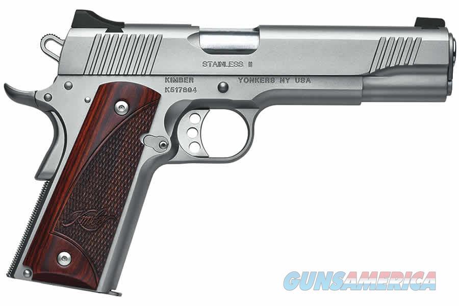 "Kimber Stainless II 9mm Satin Silver/Rosewood 5"" 3200327   Guns > Pistols > Kimber of America Pistols"