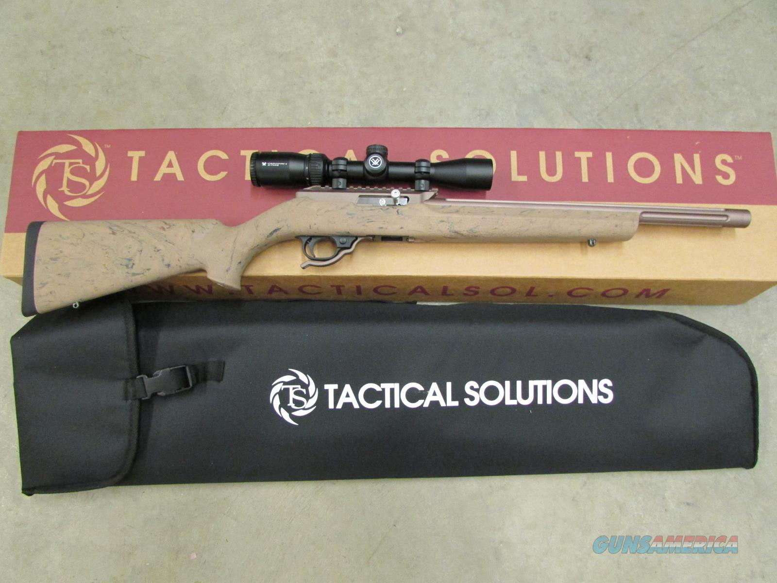 TACTICAL SOLUTIONS X-RING RIFLE VORTEX 2-7X32 22 QUICKSAND / GHILLE TAN 10/22 TEQSBHGTANVRTX   Guns > Rifles > Ruger Rifles > 10-22