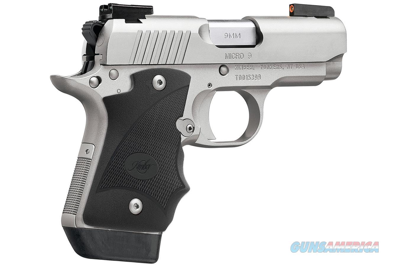 "Kimber Micro 9 Stainless (DN) 9mm 3.15"" 3300193   Guns > Pistols > Kimber of America Pistols > Micro 9"