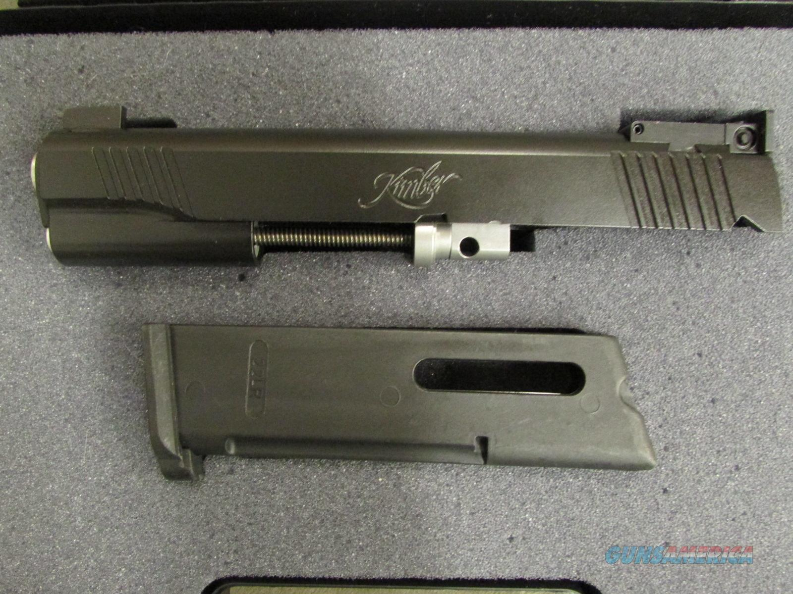Kimber 1911 Rimfire Target Conversion Kit Black .22 LR 1100043 Guns > Pistols >  Kimber of America Pistols > 1911